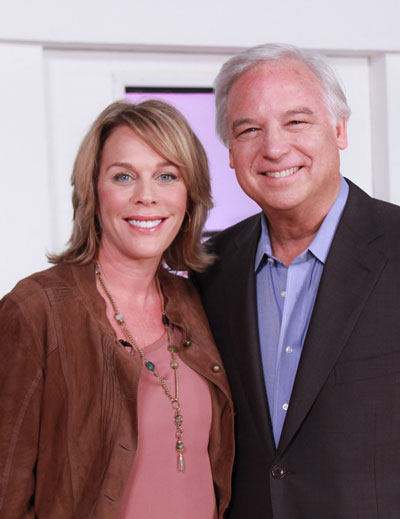 Patty Aubery and Jack Canfield
